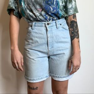 Vintage 90s High Rise Denim Shorts